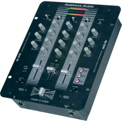 Q-D6 mixer black by American Audio