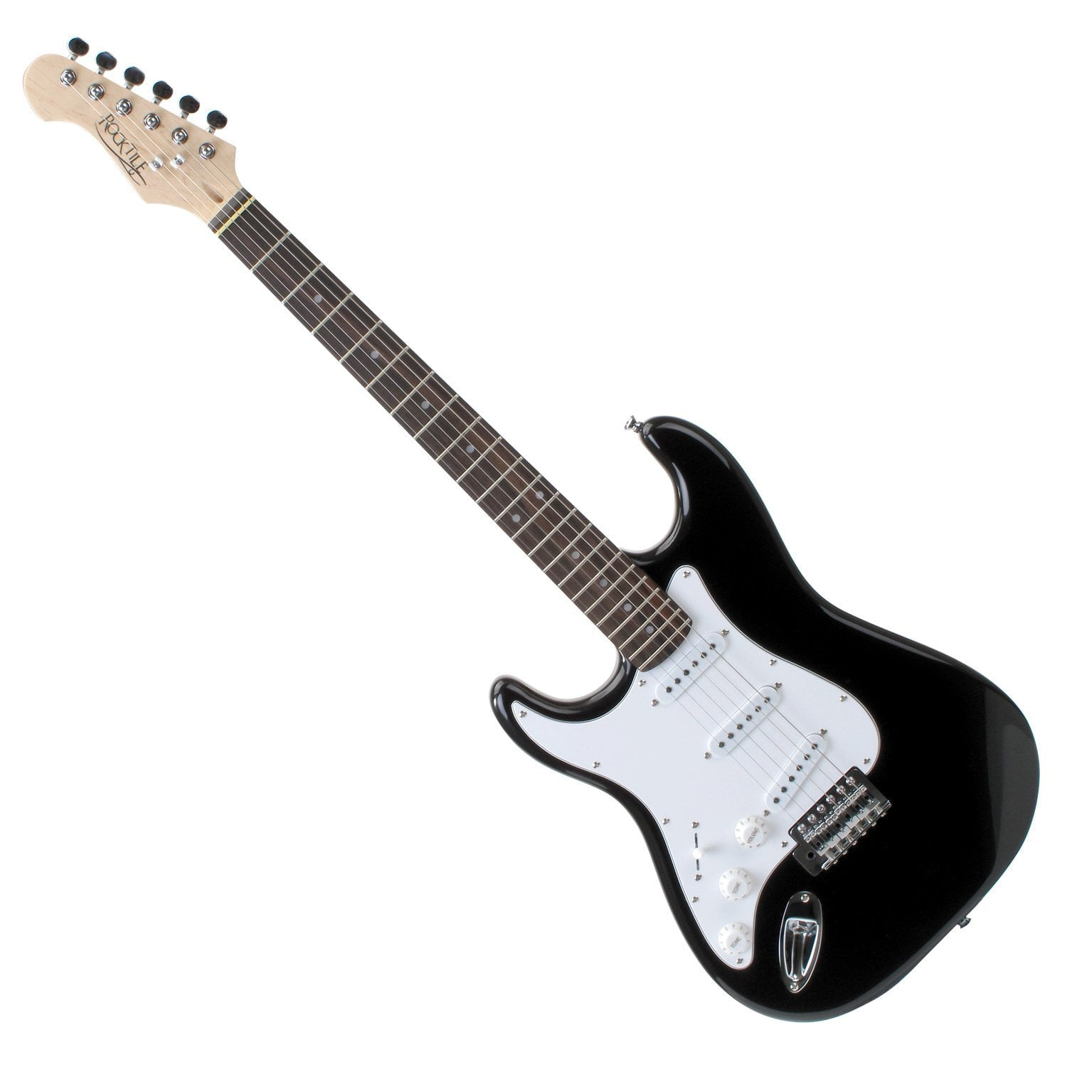 rocktile pro st3 bk l left handed electric guitar. Black Bedroom Furniture Sets. Home Design Ideas