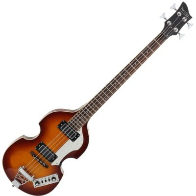 Rocktile VB-1 Sir Paul Vintage Beatbass (Violin Bass, Bass Guitar, Hollow Body, 2 Humbuckers) Sunburst