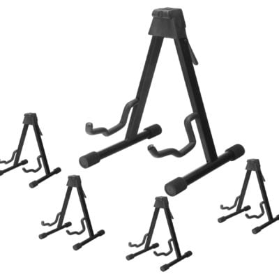 Set of 5 McGrey GS-UNI Universal Guitar Stand