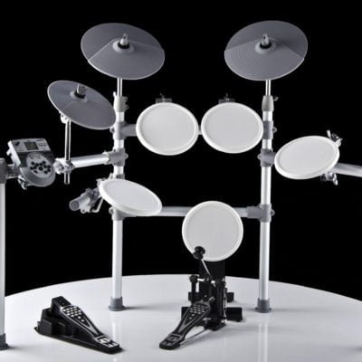 XDrum DD-516 E-Drum set, white