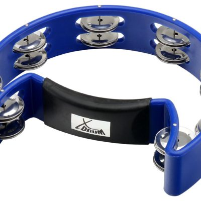 XDrum TM-1 BLU Hand Tambourine Blue