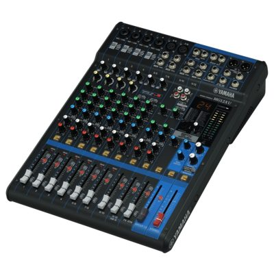Yamaha MG12XU mixer with effects USB SET incl Headphones