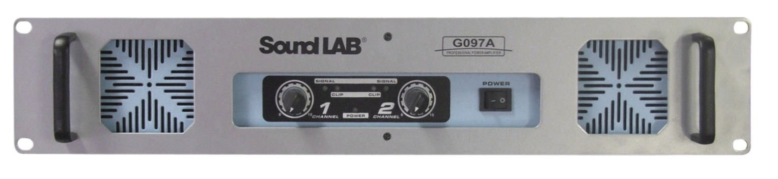 Soundlab Stereo Slave Amplifier 60+60W