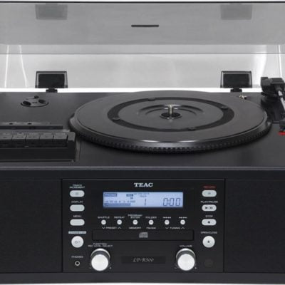Teac LPR500 Turntable with CD burner, Cassette Tape Player