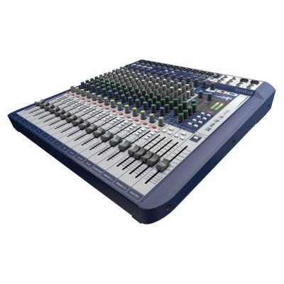 Soundcraft Signature 16-channel mixer