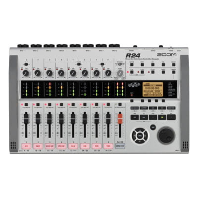Zoom R24 24 track digital recorder