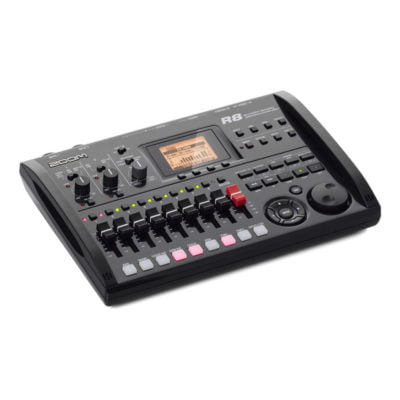 Zoom R8 8 track digital recorder