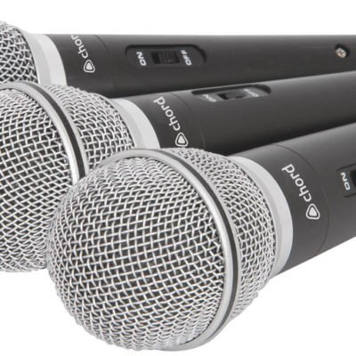 Chord DM03X set of 3 mics