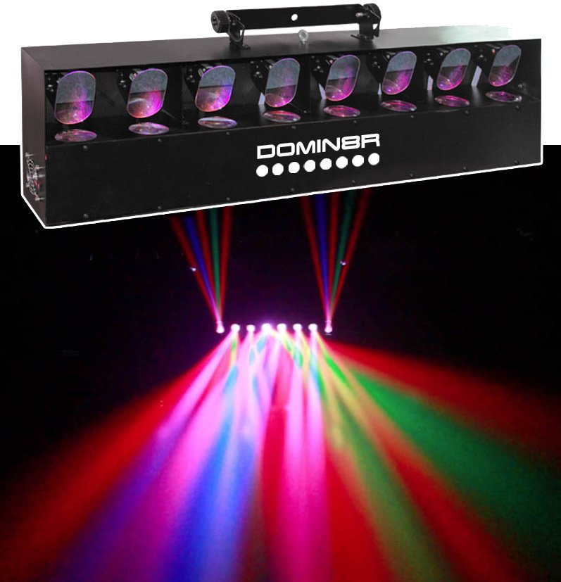 Equinox Domin8R MK2 LED Disco Lights Party lights for all venues parties