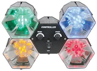 qtx, 4 way led party lights