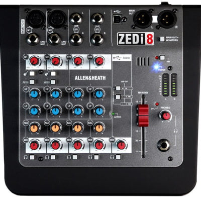 Allen & Heath Zedi-8 Hybrid Mixer