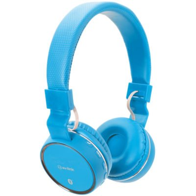 Blue Wireless Bluetooth Headphones