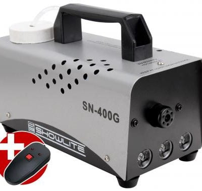 Show Lite SN-400G green LED fog machine 400W incl. Remote control