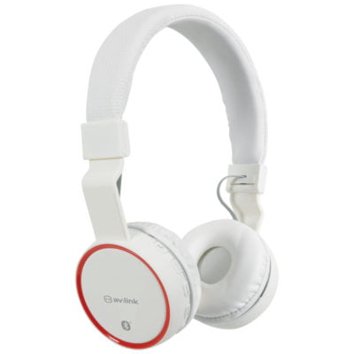 White Wireless Bluetooth Headphones