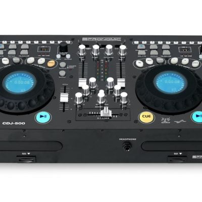 Pronomic CDJ-500 Full Station Double DJ CD Player