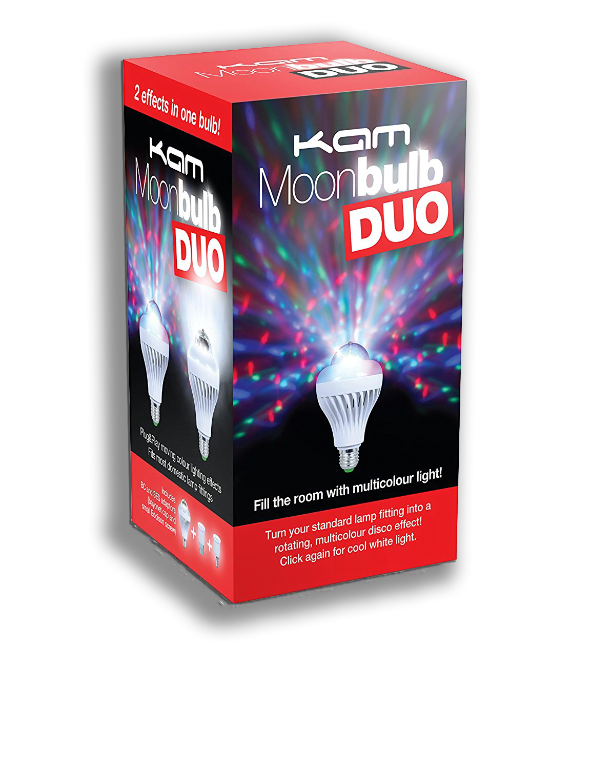 KAM Moonbulb Duo Party Lights