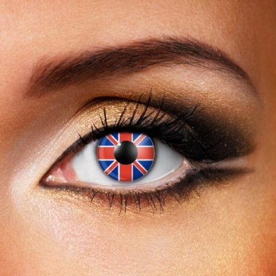 Party Contact Lenses Flags of the World
