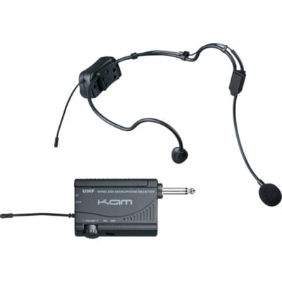 Kam KWM1900 HS UHF Wireless Head Set Microphone System
