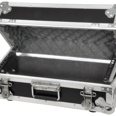 Tilt-up Rackcase for Media Player and Mixer