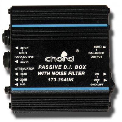 Passive DI Box with Noise Filter