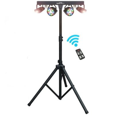 QTX LED Cluster FX Bar with Stand