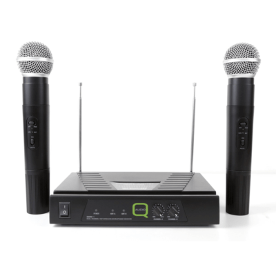 Q-Audio QWM 11 Twin Microphone System