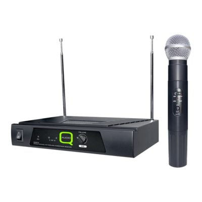 Q-Audio QWM6 VHF Wireless Microphone