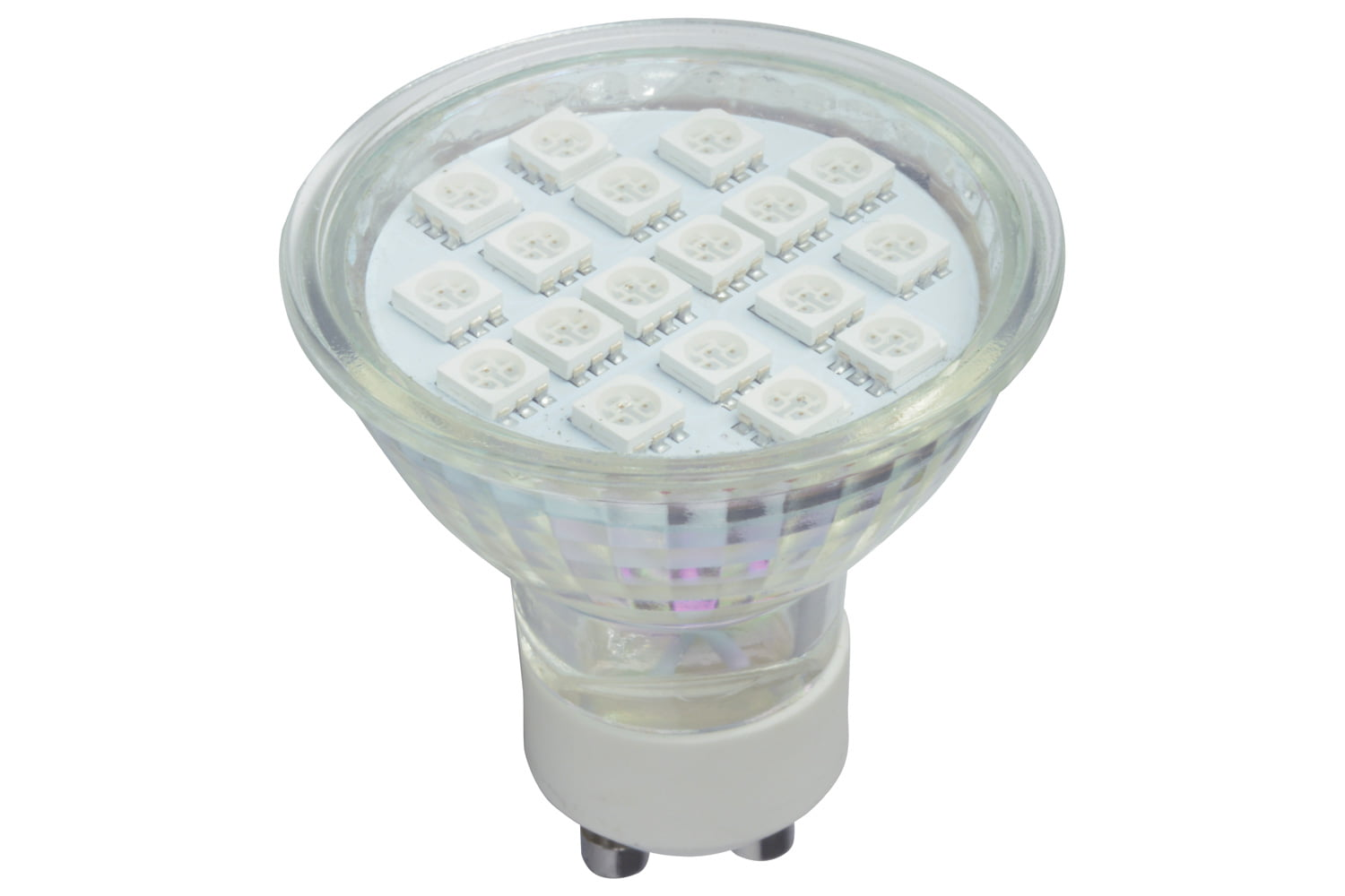 Gu led lamps red yellow blue designed for standard gu fittings