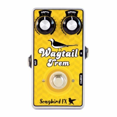 Songbird FX Wagtail Trem USB Rechargeable Optical Tremolo Guitar Pedal