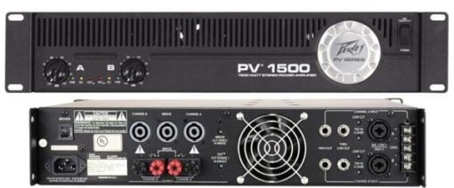 Peavey PV 1500 Power Amplifier