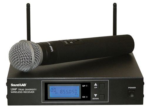 Soundlab G205LD 256 Channel Professional UHF Radio Microphone