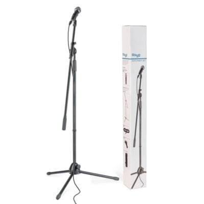 Stagg Performer Set Microphone and Boom Stand