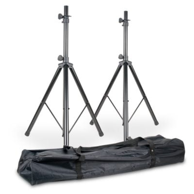 American DJ Speaker Stands SPSX2B Set of 2 with bag
