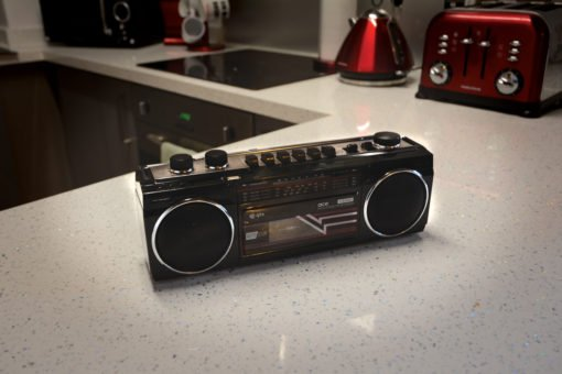 Retro Radio Cassette Player with Bluetooth and MP3 Playback
