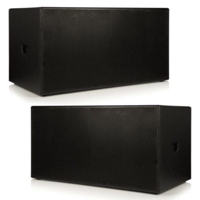 BishopSound Beta 21 inch Dual Passive Sub woofers 8000W