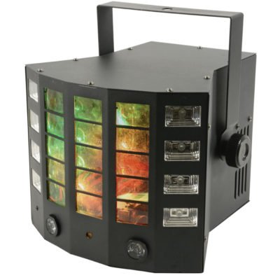 QTX Gobo Derby 4-in-1 LED Effect Light