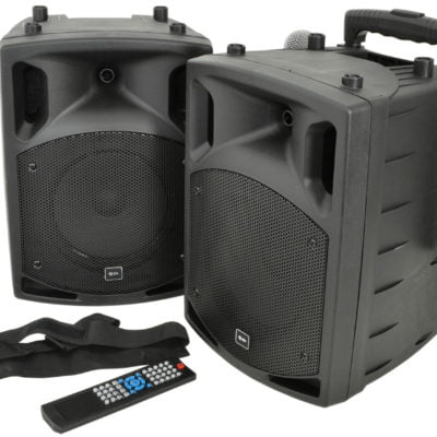 QTX PAV8 Portable PA Set