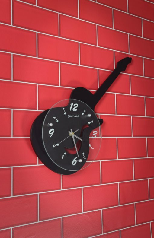 Chord Guitar Wall Clock Music Themed Wall Clocks