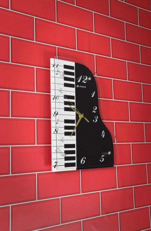 Chord Piano Wall Clock Music Themed Wall Clocks