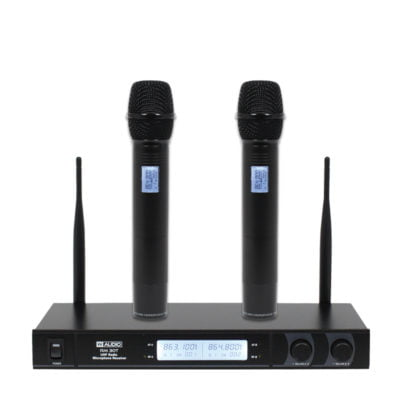 W Audio RM 30T Twin UHF Handheld Radio Microphone System