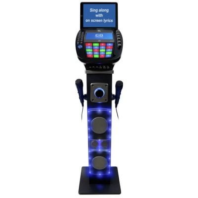 Easy Karaoke EKS878-BT Bluetooth Karaoke Machine
