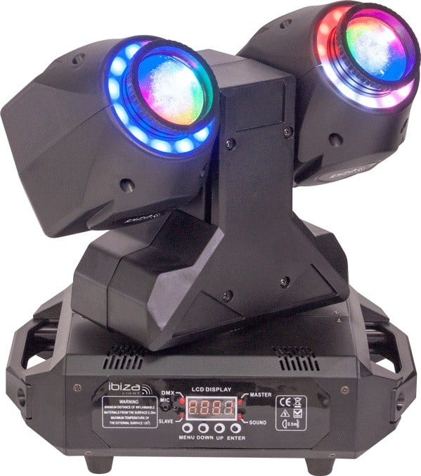 Ibiza MHBEAM60-FX Dual 2-in-1 Moving Head