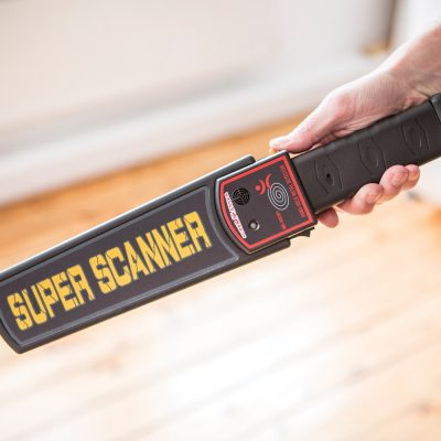 Handheld Metal Detection Security Wand