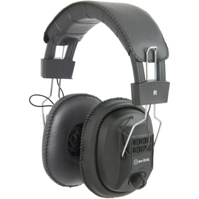 AVLINK Mono and Stereo Headphones