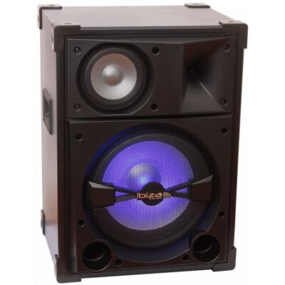 Ibiza Sound 3-Way Disco Hi-Fi Speaker
